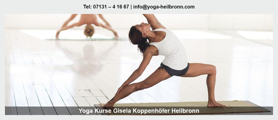 Yoga Heilbronn - Gisela Koppenhöfer: Meditation, Asana
